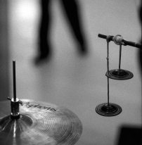 Abstract of percussion instruments.