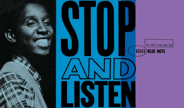 stop and listen banner
